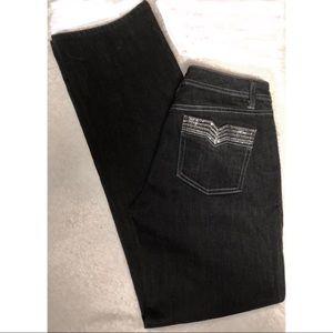 White House Black Market Superstar bling jeans